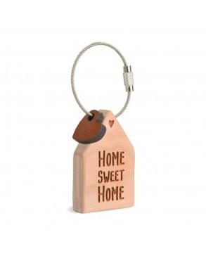 Schlüsselanhänger Haus 'Home sweet Home'