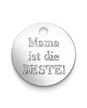 Armkette mit Anhänger 'Mama ist die...'