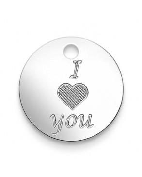 Armkette mit Anhänger 'I love you'