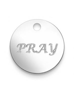Armkette mit Anhänger 'Pray'