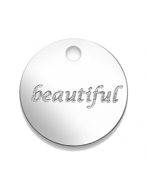 Armkette mit Anhänger 'beautiful'