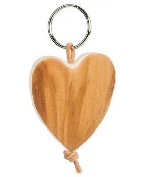 Schlüsselanhänger 'Herz' Olive