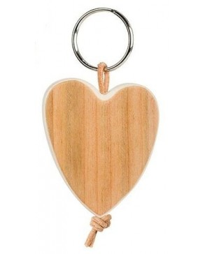 Schlüsselanhänger 'Herz' Kirsche